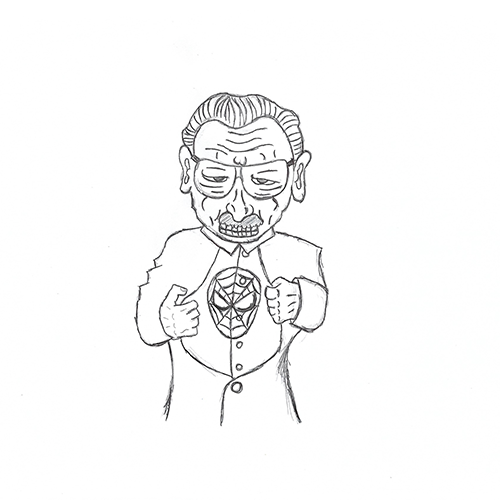 Schets Stan Lee